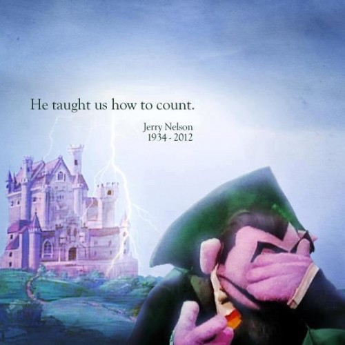 Voice of the Count from Sesame Street has passed