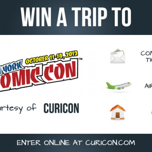 Win a trip to New York Comic Con 2012