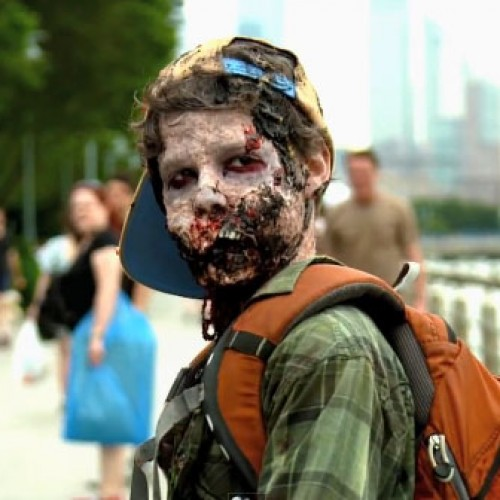 AMC sends zombies to attack New York City to retaliate against DISH Network