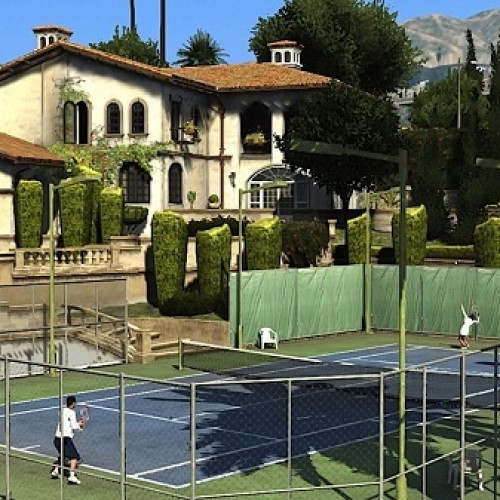 Is Grand Theft Auto 5 competing with Wii Sports Resort?