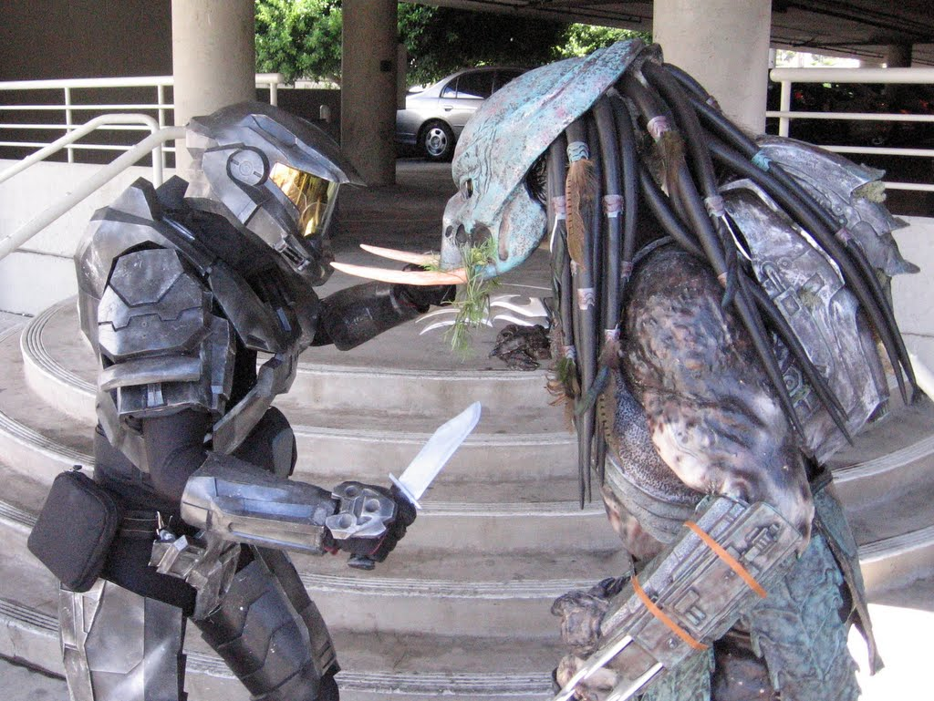 Halo Spartan Vs Predator Who Will Win Nerd Reactor
