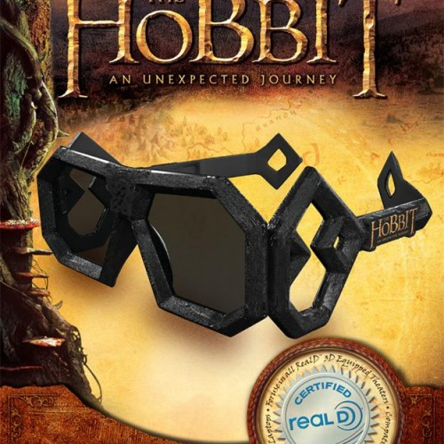 Possible title for third Hobbit movie and 3D glasses for 'An Unexpected Journey'