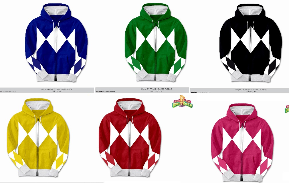 1f8c7a0749d And the winners of the Power Rangers hoodie and sexy tunic tank ...