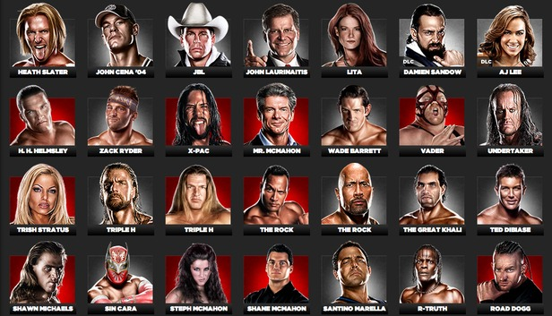 WWE '13 full roster revealed, plus 'Attitude Era' trailer