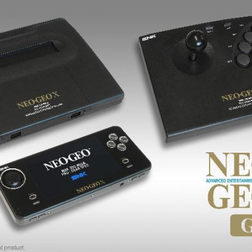 NEOGEO X GOLD arcade console due out before Xmas