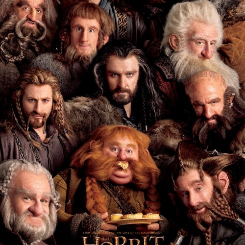 New 'The Hobbit' poster crams all the dwarves together