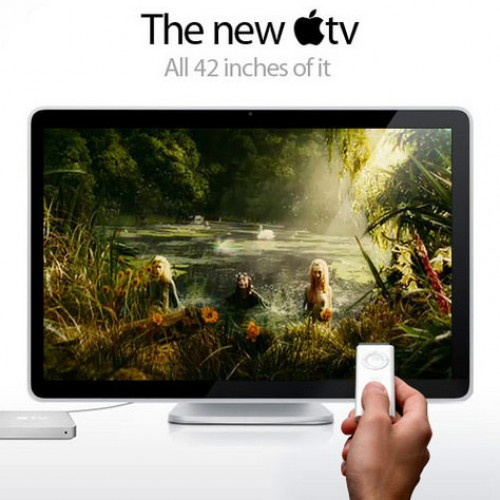APPLE TV inches nearer