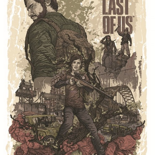 The Last of Us artwork by Alexander Iaccarino
