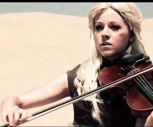 Lindsey Stirling does Game of Thrones