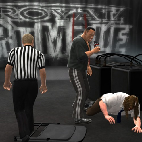The Rock joins WWE 13