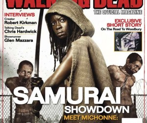 The Walking Dead, The Official Magazine #1 Newsstand cover