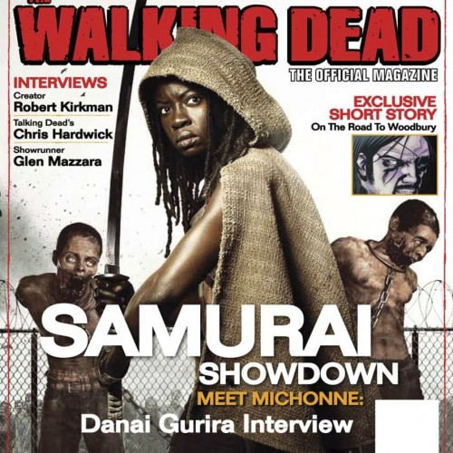 The Walking Dead is so popular, it gets its own quarterly magazine
