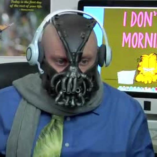 Bane goes into telemarketing as Bane the Telemarketer