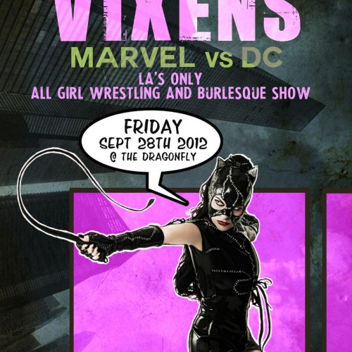 Winner announced for Marvel vs. DC Burlesque Show