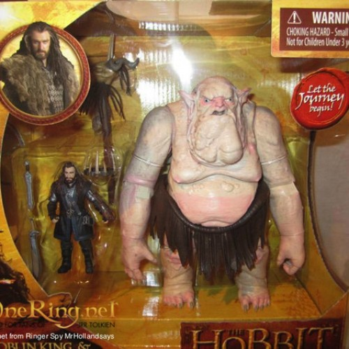 Peter Jackson is getting ballsy with the Goblin King in The Hobbit