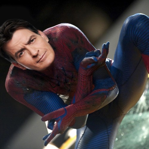 Charlie Sheen almost played Spider-Man?!