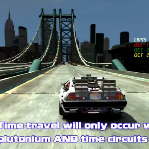 Go Back to the Future with this sick GTA IV mod
