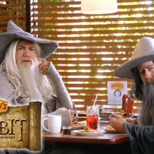 They're taking the Hobbits to…Denny's?