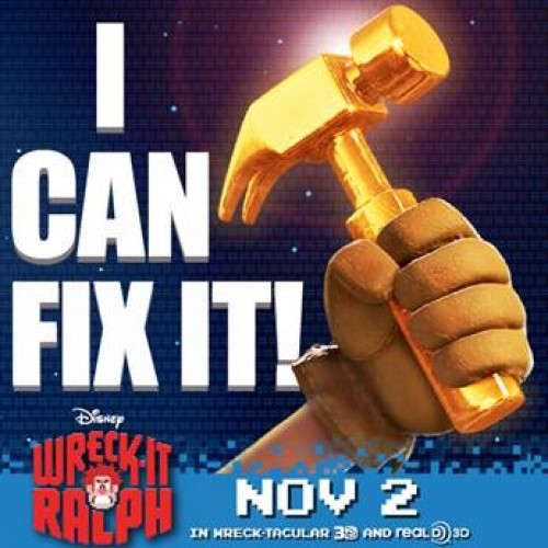 Something wrong in your life? Fix-It Felix's Hammer can help