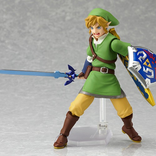 Legend of Zelda: Skyward Sword figma finally coming to the US this Fall