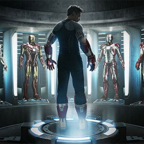 Check out Iron Man 3 IMAX at midnight and you'll get this cool poster too