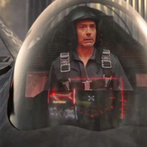 Robert Downey, Jr. brings a fighter jet to a gun fight in Black Ops 2