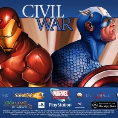 Marvel's Civil War becomes a pinball game