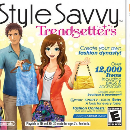 Style Savvy: Trendsetters review, clothing crazed