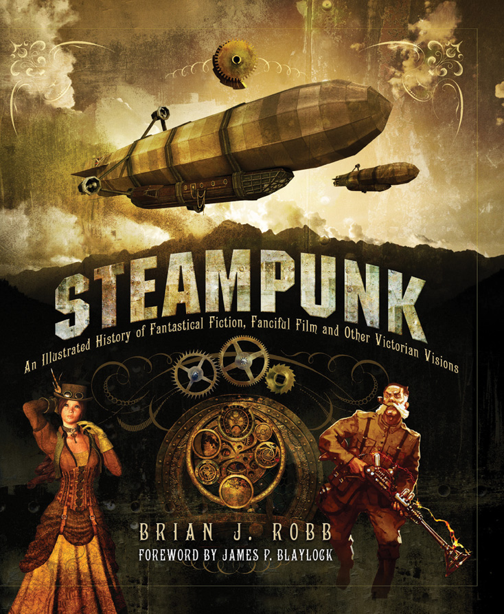 Illustrated Book Cover Generator ~ Steampunk an illustrated history review nerd reactor