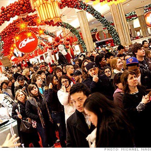 Black Friday and Cyber Monday sales increase from last year