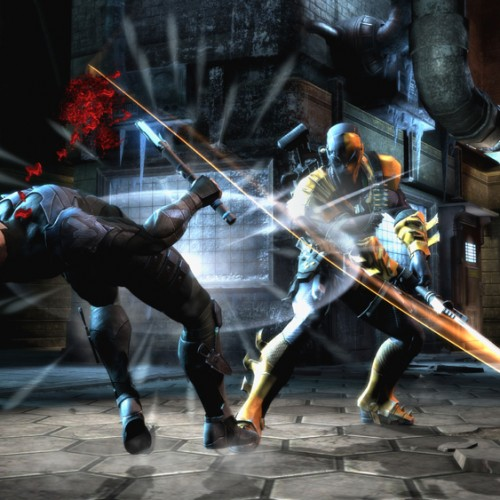 Deathstroke joins the Injustice cast, brings lots of guns