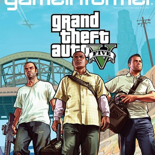 GTA V graces the cover of Game Informer