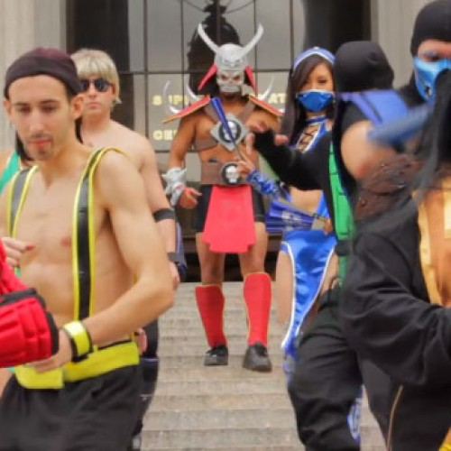 Can you handle another Gangnam video? Mortal Kombat Style!