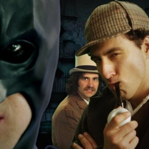 Batman and Sherlock Holmes battle it out in Epic Rap Battles of History