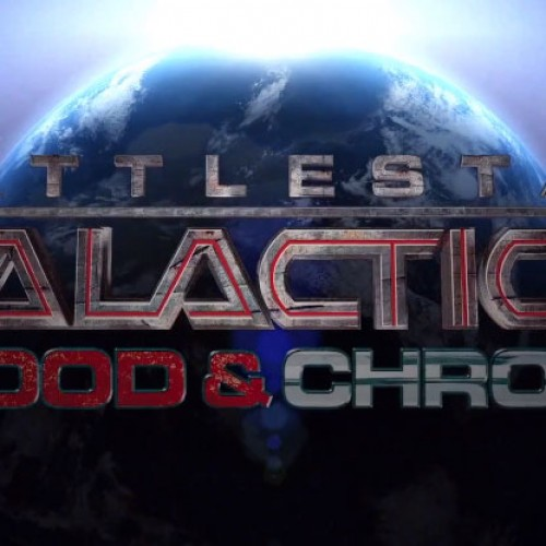 It's time for a frakkin' Battlestar Galactica: Blood and Chrome trailer