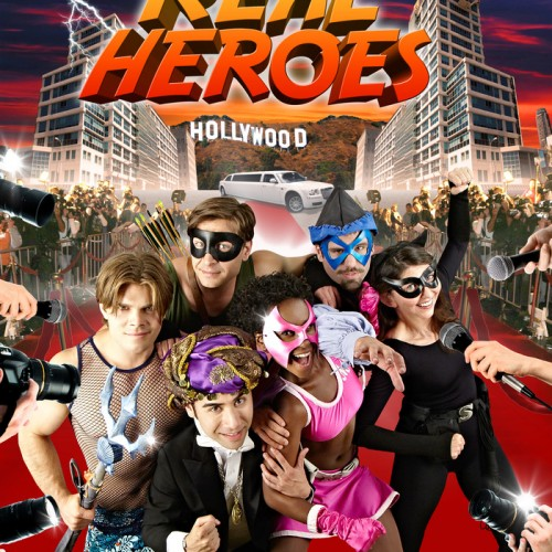 Superheroes and reality TV show meet in Real Heroes trailer