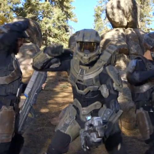 Master Chief dances to 'Glad You Came'
