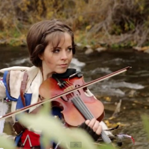 Lindsey Stirling does Assassin's Creed III violin