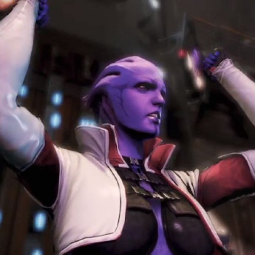Help Aria T'Loak in the new Mass Effect 3: Omega DLC