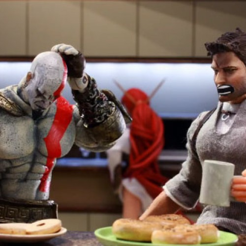Robot Chicken does PlayStation All-Stars Battle Royale