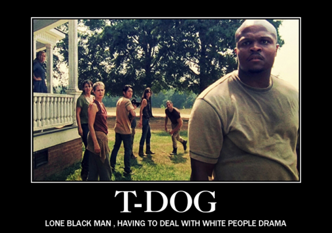 And let's not forget about t dog everybody's favorite forgettable