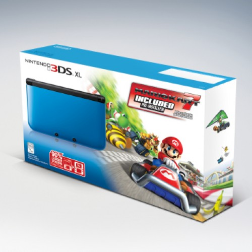Mario Kart 7 3DS XL bundle hits the track Dec. 2nd
