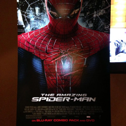 The Amazing Spider-Man Blu-ray behind-the-scenes press day coverage