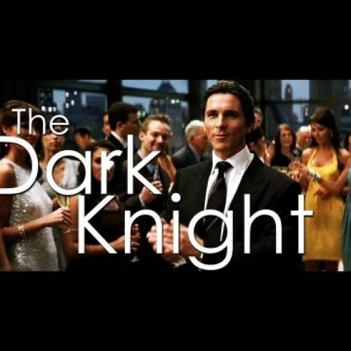 The Dark Knight is really a romantic comedy
