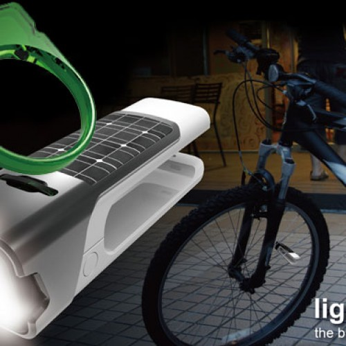 Green Lantern inspired bicycle lock