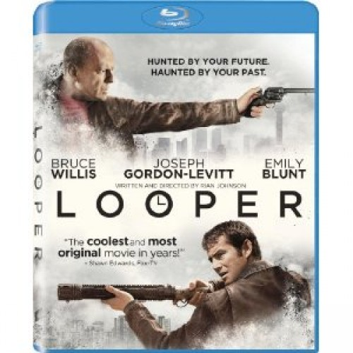 Looper is out on Blu-ray/DVD today
