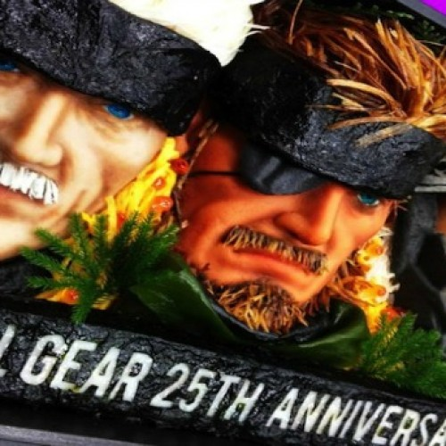 Kojima takes a bite out of Snake and Raiden for Metal Gear 25th anniversary