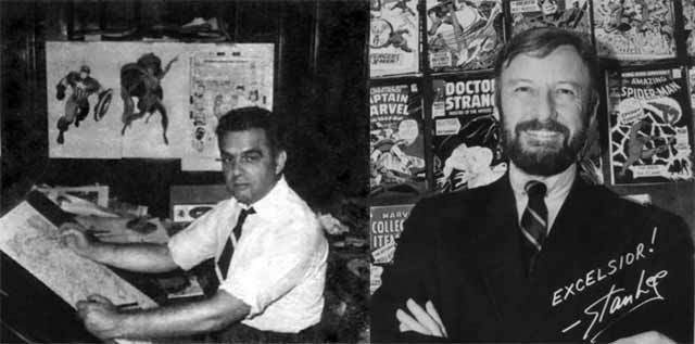 Jack Kirby  and Stan Lee
