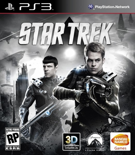 Star Trek Front of Box - PS3