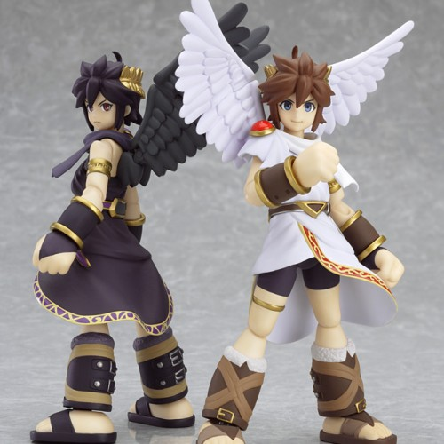 Max Factory announces Kid Icarus: Uprising's Pit and Dark Pit Figmas